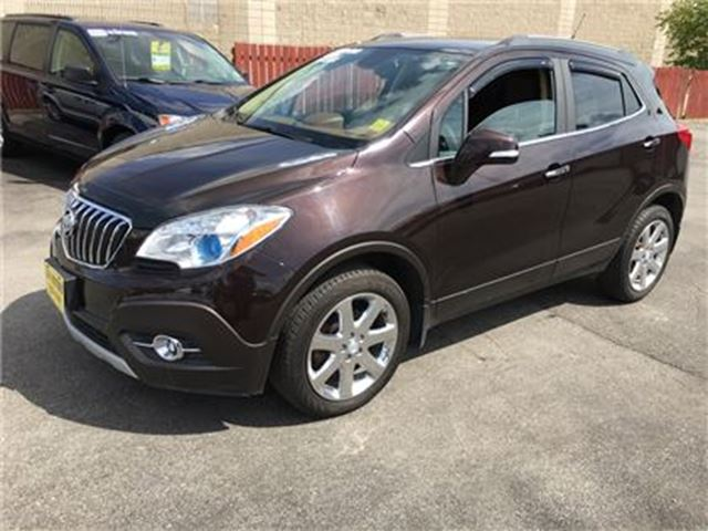 2014 BUICK ENCORE Automatic, Leather, AWD Only 55, 000km in Burlington, Ontario
