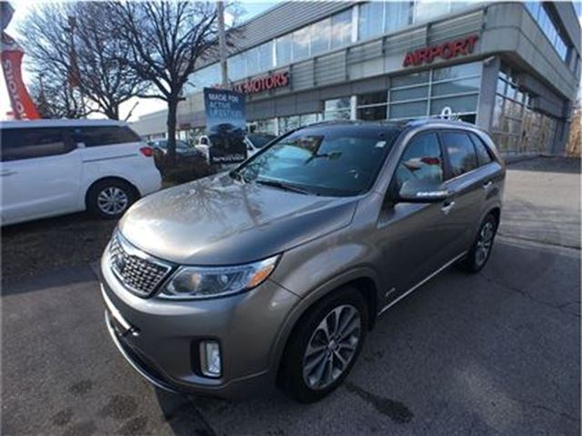 2015 KIA Sorento SX/NAV/LEATHER/PANO ROOF/HTD SEATS/LOADED in Mississauga, Ontario