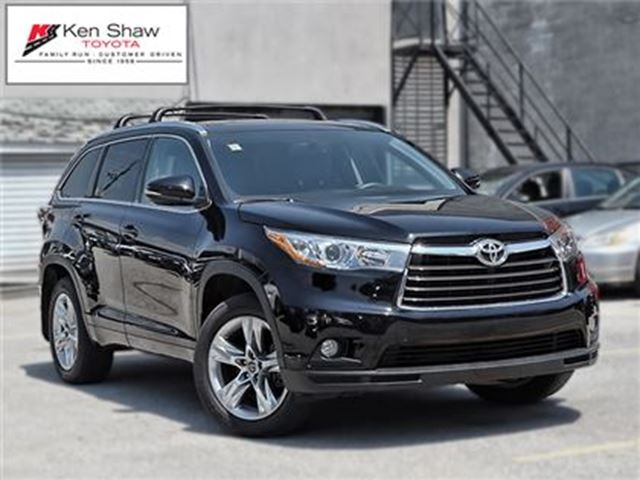 2016 toyota highlander limited toronto ontario car for sale 2825036. Black Bedroom Furniture Sets. Home Design Ideas