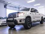2012 Toyota Tundra Platinum, Lift Kit, Soft Tonneau, XD Series Rims, Fender Flares, Bull Bar, Running Boards, Navigation, Leather, Heated & Cooled Seats, Sunroof, Touch Screen, Back Up Camera, Bluetooth, 5.7L V8, 4x4, Crew Max in Edmonton, Alberta
