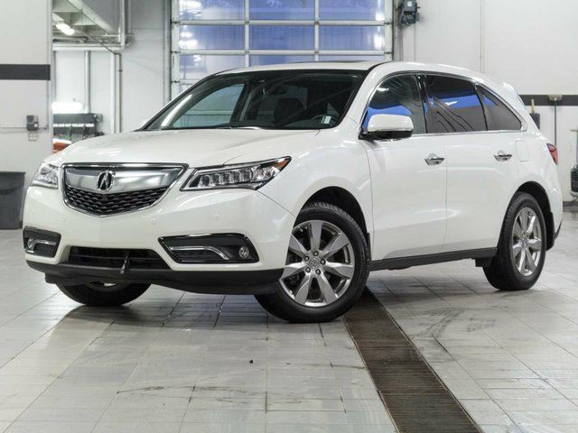 2016 ACURA MDX Elite w/Rear DVD and Winter Tires Included in Kelowna, British Columbia