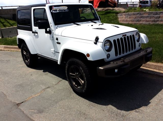 2016 JEEP WRANGLER SPECIAL EDITION, 75TH ANNIVERSARY MODEL in Dartmouth, Nova Scotia
