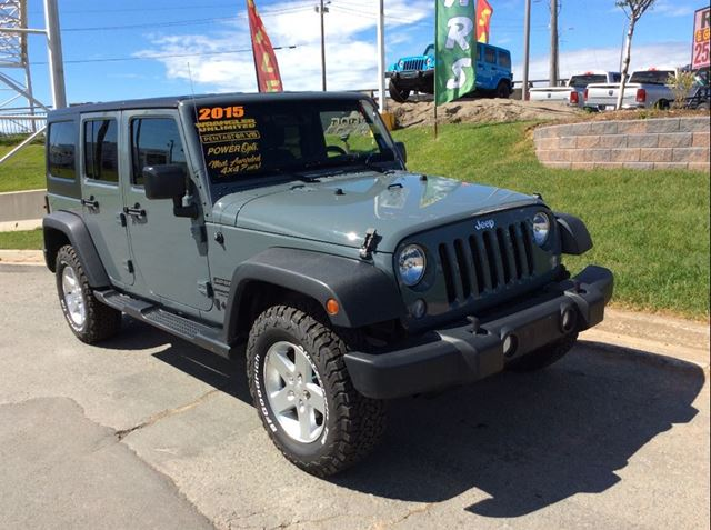 2015 JEEP WRANGLER Unlimited Sport in Dartmouth, Nova Scotia