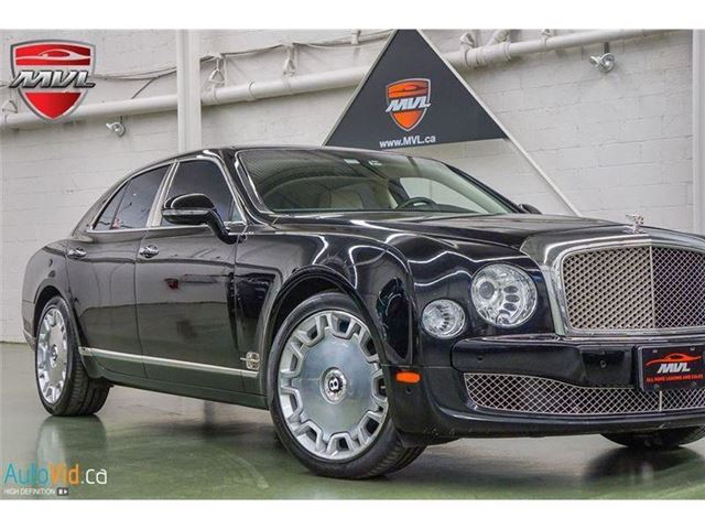 2012 BENTLEY MULSANNE - in Oakville, Ontario