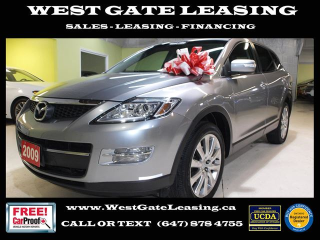 2009 Mazda CX-9 TOURING AWD  LEATHER  7 PASSENGER  in Vaughan, Ontario