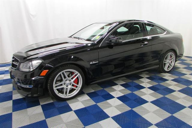 2012 Mercedes-Benz C-Class C63 AMG/NAV/SUNROOF/LEATHER/LOW KM in Winnipeg, Manitoba