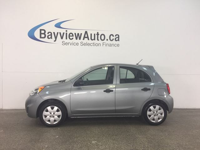 2015 NISSAN MICRA S- 5 SPEED! 1.6L! PURE DRIVE! CLEAN CARPROOF! in Belleville, Ontario