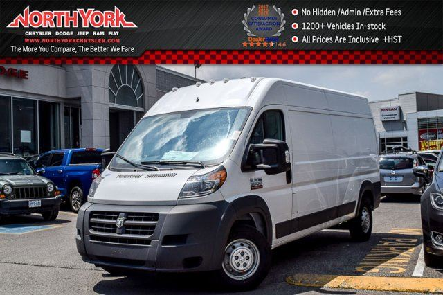 2017 RAM PROMASTER New Car Base HighRoof 159Box CruiseControl Backup_Cam  in Thornhill, Ontario