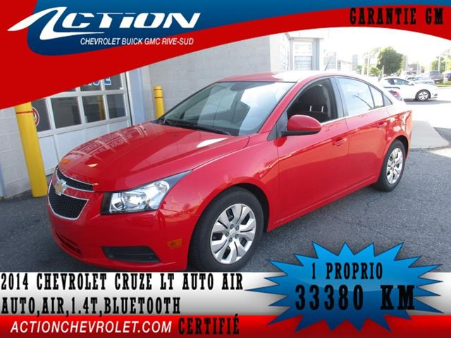 2014 Chevrolet Cruze 1LT in Saint-Hubert, Quebec