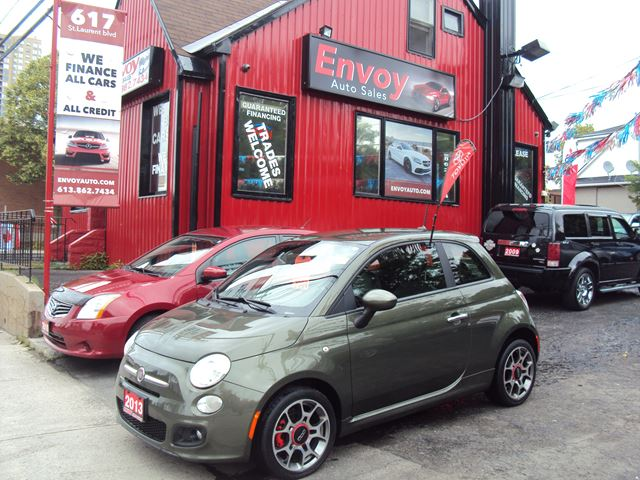 2013 Fiat 500 SPORT ONE OWNER!NO ACCIDENTS!!SERVICED RECORDS! in Ottawa, Ontario
