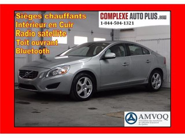 2013 Volvo S60 S60 T5 AWD 4x4 *Cuir, Toit ouvrant in Saint-Jerome, Quebec