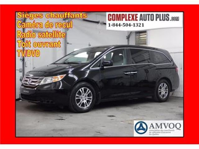 2013 Honda Odyssey EX-L w/RES *CUIR/TOIT/DVD in Saint-Jerome, Quebec