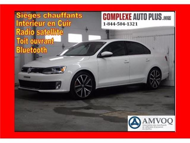 2014 Volkswagen Jetta GLI 2.0T *Cuir, Toit, Mags 2 tons in Saint-Jerome, Quebec