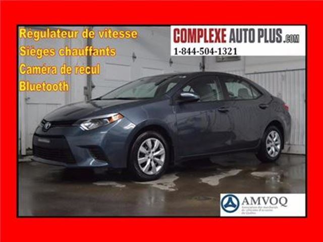 2014 Toyota Corolla LE *Cruise/Bluetooth/Ecran 6po. in Saint-Jerome, Quebec