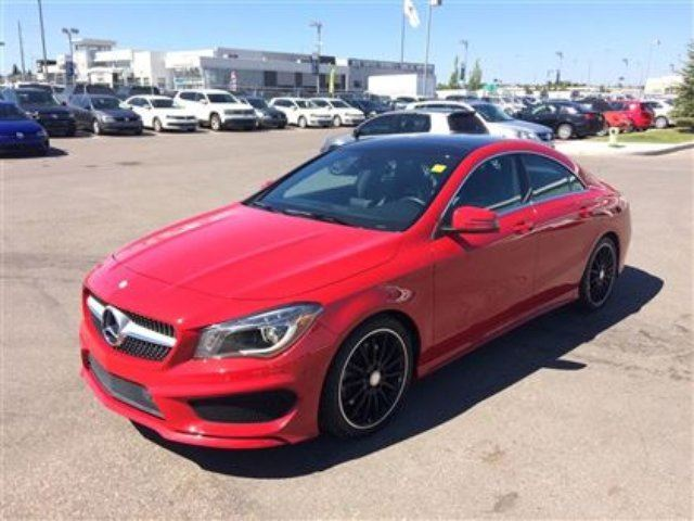 Used 2014 mercedes benz cla class base calgary for 2014 mercedes benz cla class