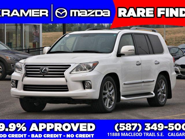 2014 LEXUS LX 570 Ultra Premium Package in Calgary, Alberta