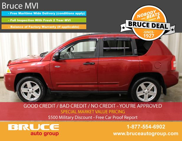 2008 JEEP COMPASS NORTH 2.4L 4 CYL CVT FWD in Middleton, Nova Scotia