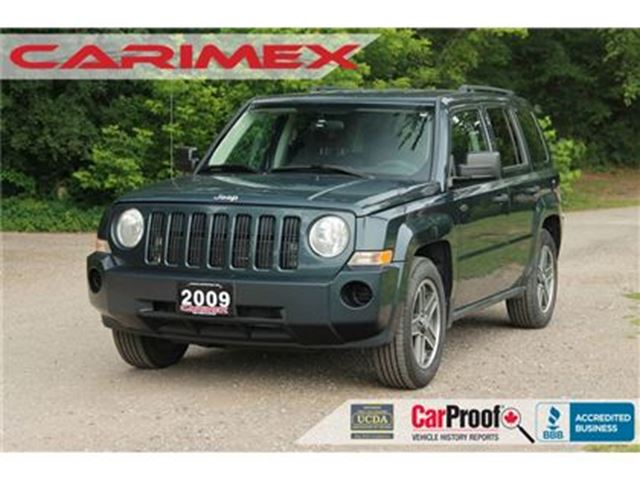 2008 JEEP PATRIOT Sport/North Accident-FREE   CERTIFIED in Kitchener, Ontario