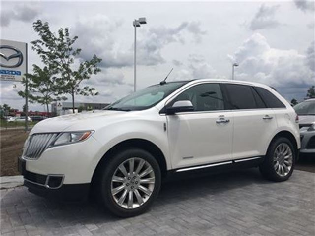 2013 LINCOLN MKX HEATED/COOLED SEATS, NAVIGATION, PANORAMIC ROOF in Barrie, Ontario