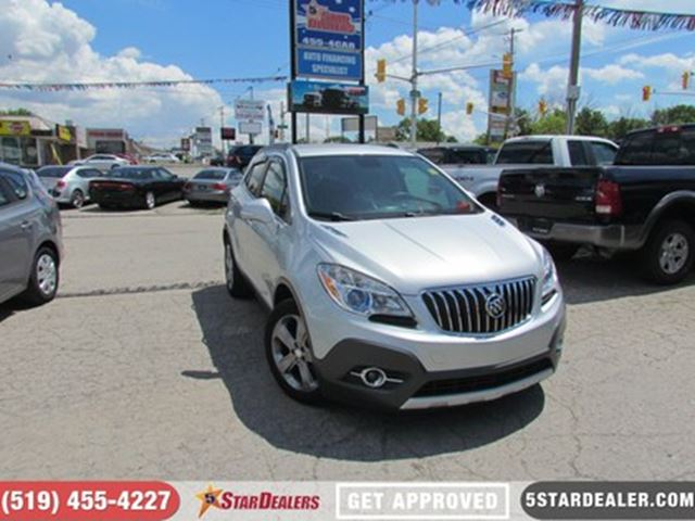 2014 BUICK ENCORE LEATHER   BACKUP CAM   ONSTAR in London, Ontario
