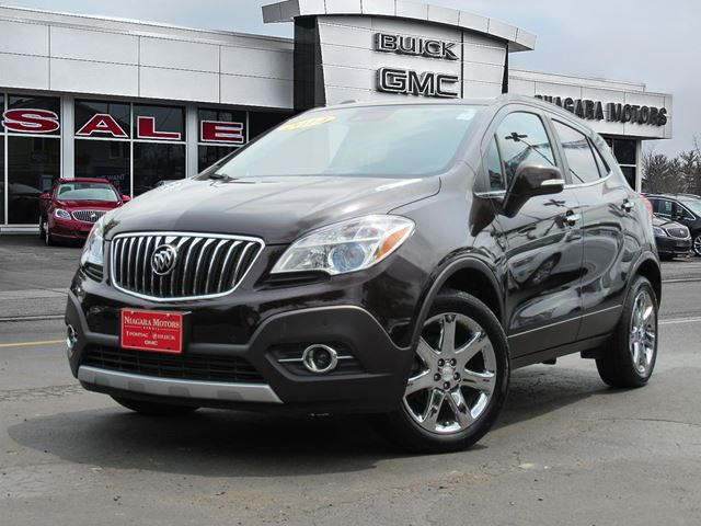 2014 BUICK ENCORE Premium AWD ** ONE Owner, Purchased AND Service in Virgil, Ontario