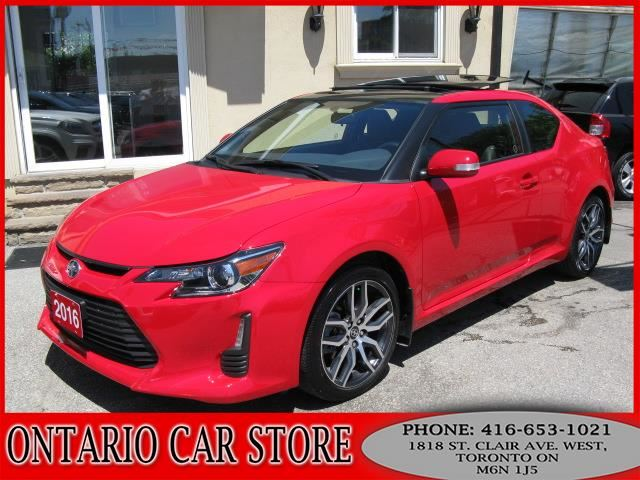 2016 SCION TC DUAL SUNROOF LEATHER TOUCH SCREEN in Toronto, Ontario