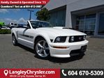 2008 Ford Mustang GT CALIFORNIA SPECIAL  CONVERTIBLE W/ NAVIGATION in Surrey, British Columbia
