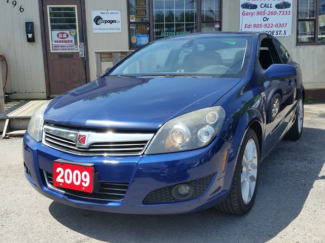 2009 SATURN ASTRA XR,certified in Oshawa, Ontario