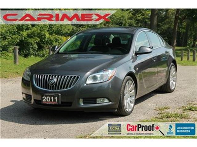 2011 BUICK REGAL CXL Turbo ONLY 58K   Accident-FREE   CERTIFIED in Kitchener, Ontario