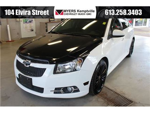 2014 Chevrolet Cruze 2LT Leather Sun Roof Touch Screen in Kemptville, Ontario