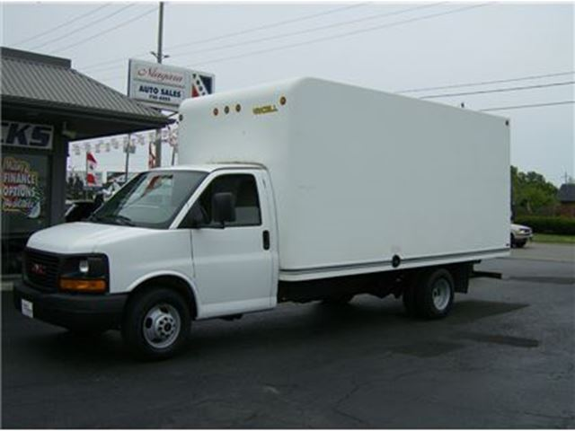 2011 GMC SAVANA 3500 CUBE READY FOR BUSINESS !! in Welland, Ontario