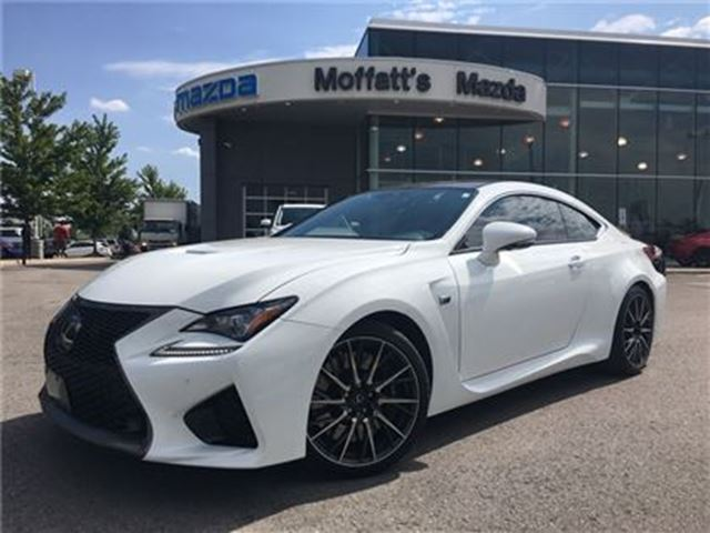 2015 LEXUS RC F PERFORMANCE PKG - RED LEATHER, NAVIGATION in Barrie, Ontario