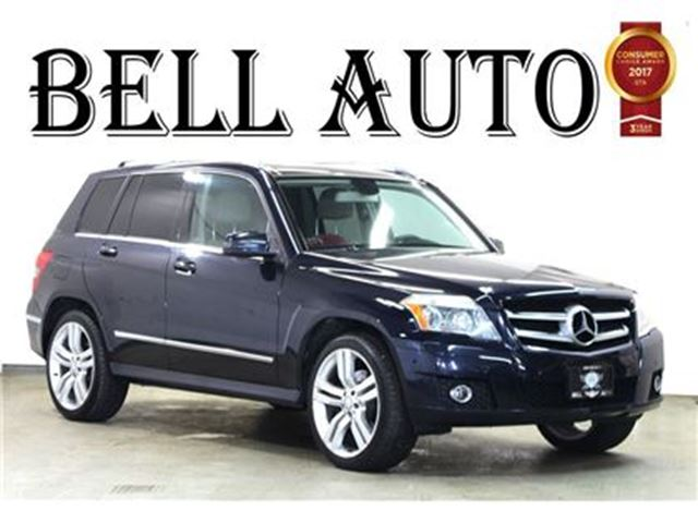 2011 Mercedes-Benz GLK-Class PANOROOF LEATHER AWD in Toronto, Ontario