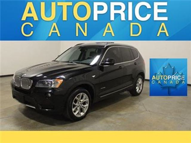 2014 BMW X3 NAVIGATION PANOROOF REAR CAM in Mississauga, Ontario
