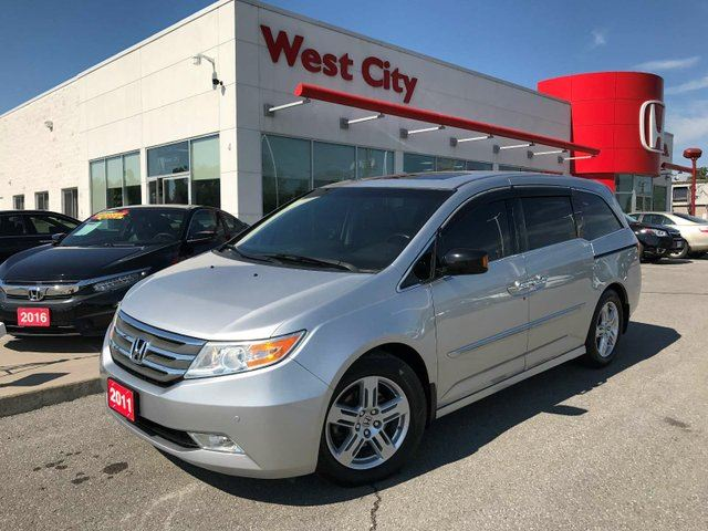 2011 HONDA ODYSSEY TOURING,LEATHER,GPS! in Belleville, Ontario