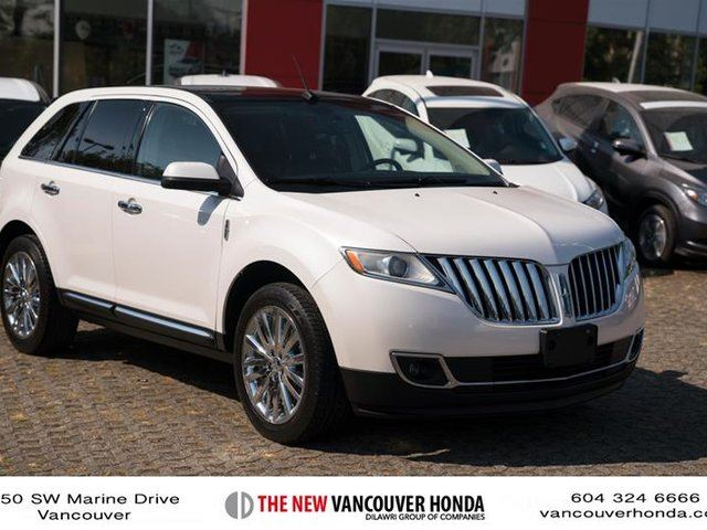 2011 LINCOLN MKX 4D Utility AWD in Vancouver, British Columbia
