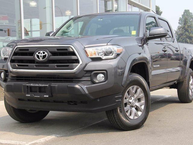 2016 TOYOTA TACOMA SR5 4x4 Double Cab 140.6 in. WB in Kamloops, British Columbia