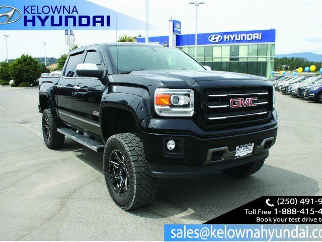 2015 GMC SIERRA 1500 SLT in Kelowna, British Columbia