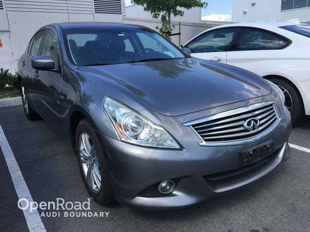 2010 INFINITI G37  4dr Sdn Sport AWD in Vancouver, British Columbia