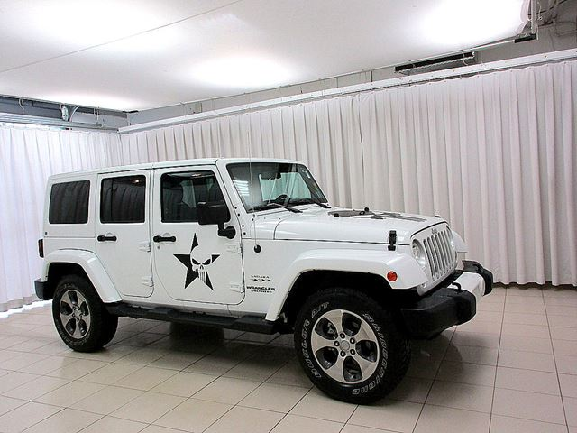 2016 JEEP WRANGLER 4X4 SAHARA UNLIMITED PUNISHER EDITION! CALLING  in Dartmouth, Nova Scotia