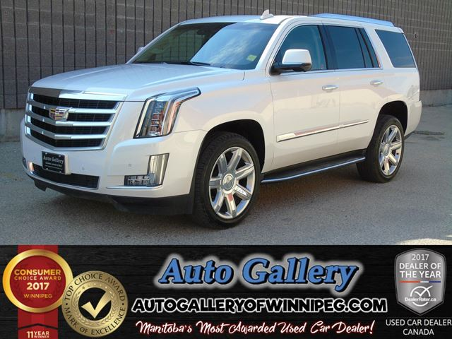 2016 CADILLAC ESCALADE Luxury Collection in Winnipeg, Manitoba