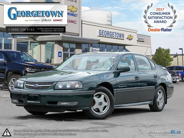 2002 Chevrolet Impala LS SEDAN in Georgetown, Ontario