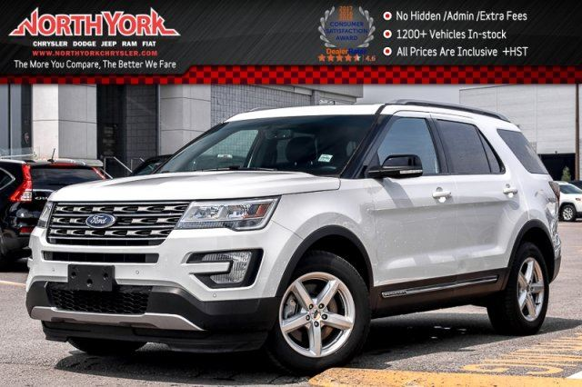2016 Ford Explorer XLT 4x4 7-Seater Pano_Sunroof Backup Cam Leather 18Alloys in Thornhill, Ontario