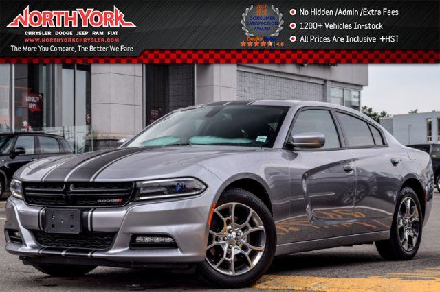 2016 Dodge Charger SXT  AWD Sunroof Nav DualStripes R-Start HtdFrSeats 19Alloys  in Thornhill, Ontario