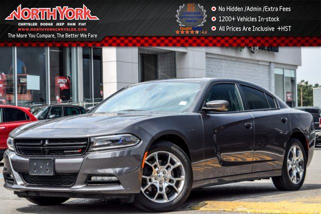2016 Dodge Charger SXT  AWD Sunroof Nav R-Start HtdFrSeats Uconnect3C 19Alloys  in Thornhill, Ontario