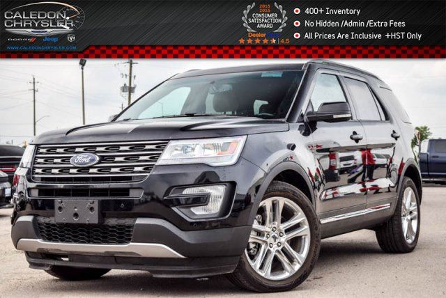 2016 Ford Explorer XLT 4x4 7Seater Pano Sunroof Backup Cam Bluetooth R-Start Leather 18Alloy Rims in Bolton, Ontario