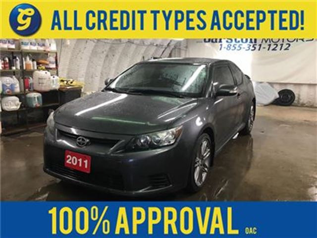 2011 SCION TC PANORAMIC MOON-ROOF*REMOTE START*HEATED SEATS* in Cambridge, Ontario