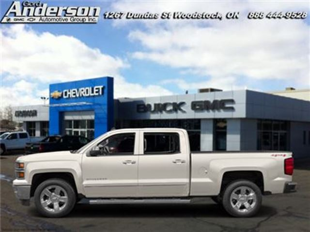 2015 Chevrolet Silverado 1500 High Country - Leather Seats -  Cooled Seats in Woodstock, Ontario