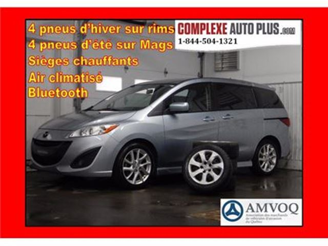 2012 Mazda MAZDA5 GT *Mags/Fogs/Banc chauffant in Saint-Jerome, Quebec