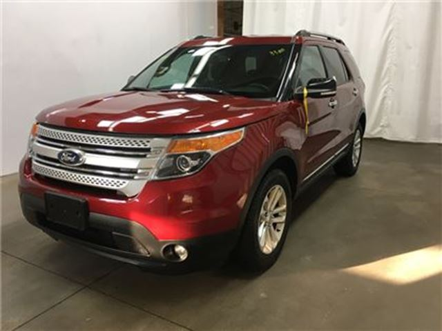 2013 Ford Explorer XLT/CARPROOF CLEAN/NAV/HEATED SEATS/BACKUPCAM in Fonthill, Ontario